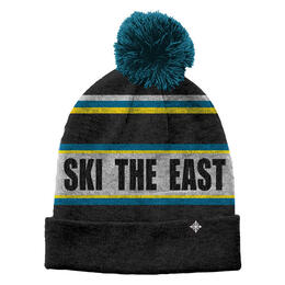 Ski The East Youth's Tailgater Pom Beanie