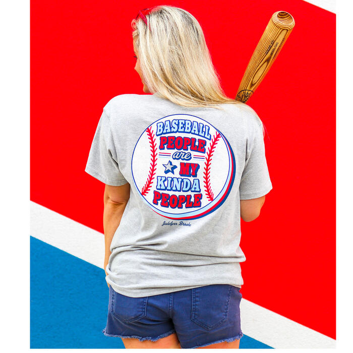 Jadelynn Brooke Women's Baseball People T-S