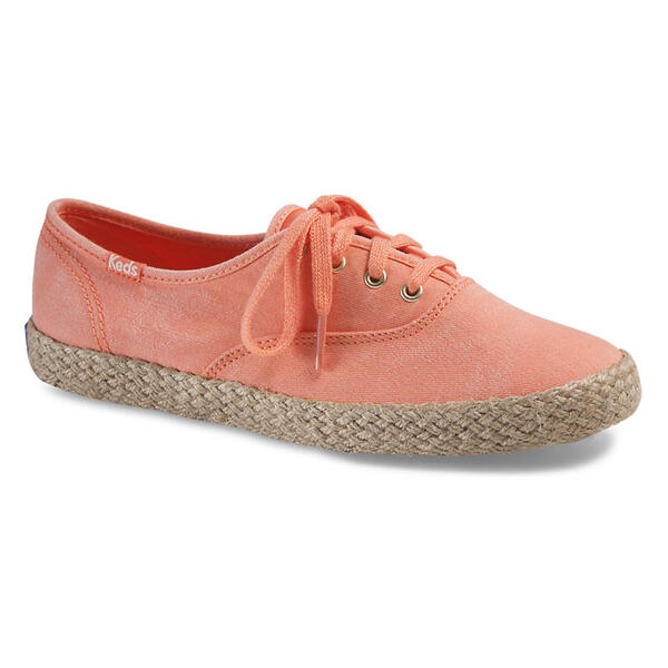 Keds Women's Champion Washed Jute Casual Shoes