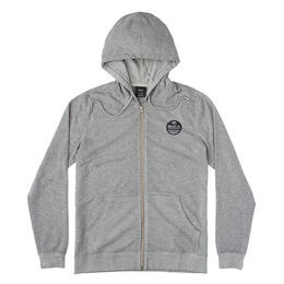 Rvca Men's Machine Sun Wash Zip Hoodie