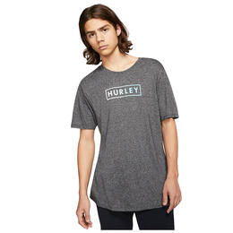 Hurley Men's Siro Boxed Gradient Short Sleeve T Shirt