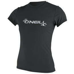 O'neill Women's Basic Short Sleeve Sun Rashguard
