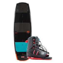 Hyperlite Men's Franchise Wakeboard W/ Team Ot Bindings '18