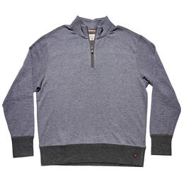 The Normal Brand Men's Cole Terry Quarter-Zip Pullover
