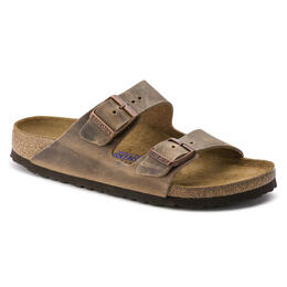 Birkenstock Women's Arizona Soft Footbed Oiled Leather Casual Sandals