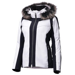 Descente Women's Sofia Insulated Jacket With Fur Trim