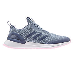 Adidas Girl's Rapidarun X Knit Running Shoes (Big Kids)
