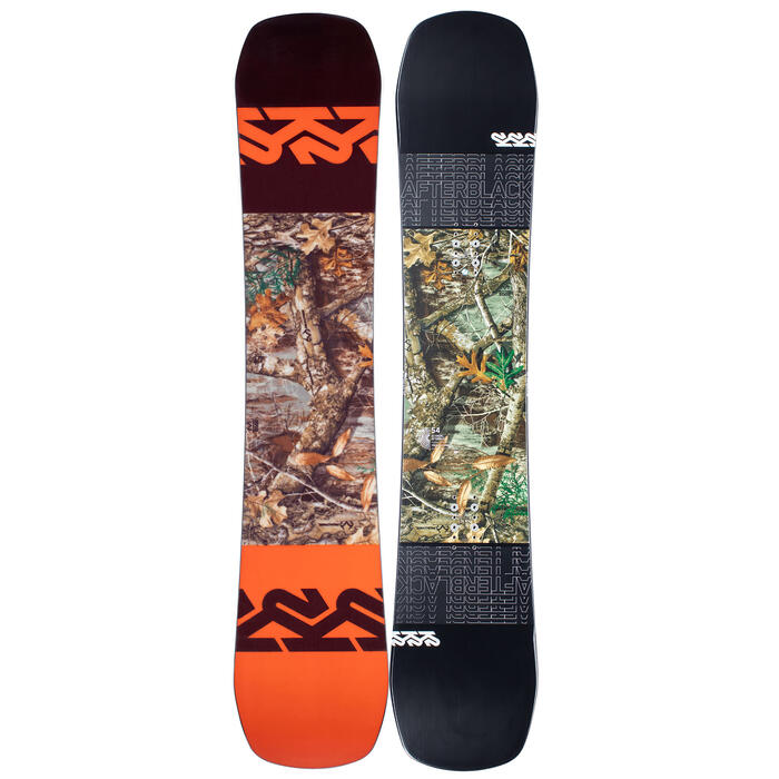 K2 Sports Men's Afterblack Snowboard '21
