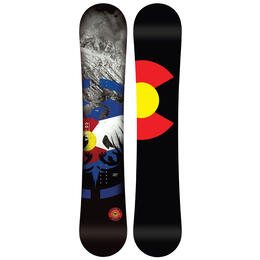 Never Summer Men's Heritage X Wide Snowboard '20