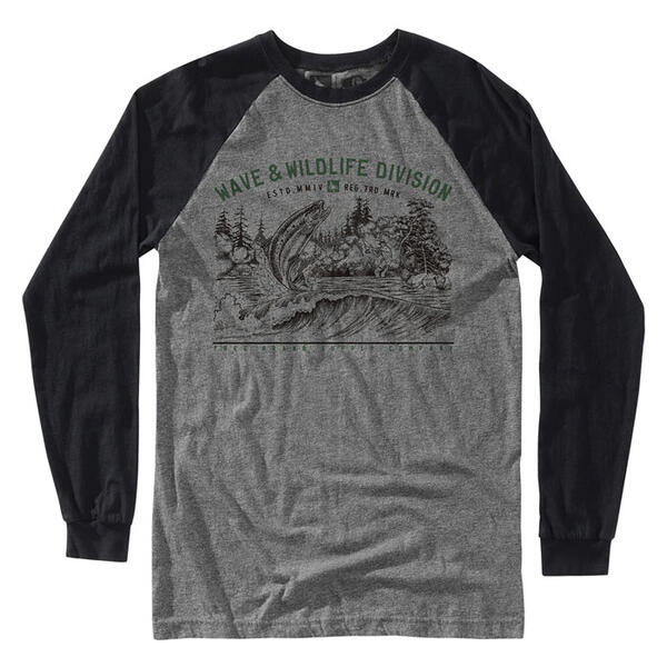 Hippy Tree Men's Bait Long Sleeve Shirt