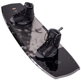 Hyperlite Men's Baseline Wakeboard with Remix 7-10.5 Bindings '21
