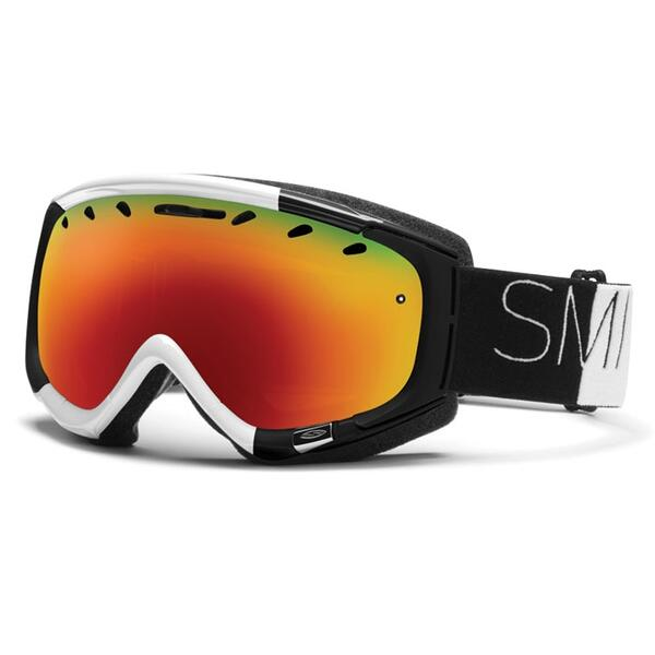 Smith Phenom Snow Goggles with Red Sol-X Lens