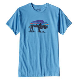 Patagonia Men's Fitz Roy Bison Short Sleeve T-shirt