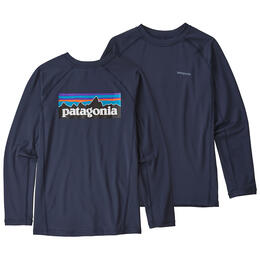 Patagoina Boys' Long Sleeved Silkweight Rashguard
