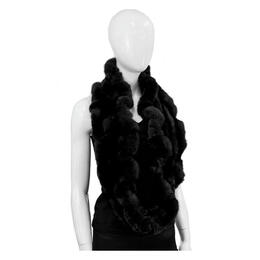 Mitchies Matchings Women's Rabbit Infinity Scarf