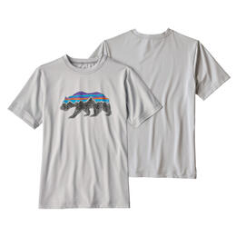 Patagonia Boy's Caplinene Silkweight Short Sleeve T Shirt