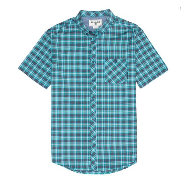 Billabong Men's Sheldon Shortsleeve Woven Shirt