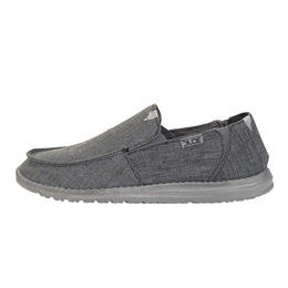 Hey Dude Men's Chan Stretch Casual Shoes Steel