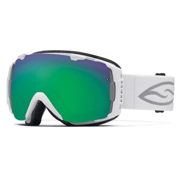 Smith I/O Snow Goggles with Green Sol-X Lens