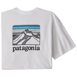 Patagonia Men's Line Logo Ridge Pocket Responsibili-Tee® Shirt