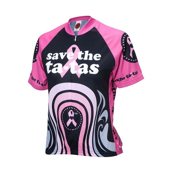 World Jerseys Women's Save The Tatas Cycling Jersey