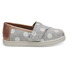 Toms Toddler Girl's Alpargata Slip On Casual Shoes