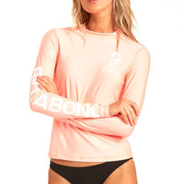 Billabong Women's Core Loose Fit Long Sleeve Rashguard