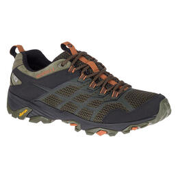 Merrell Men's Moab Fst 2 Mid Waterproof Hiking Shoes