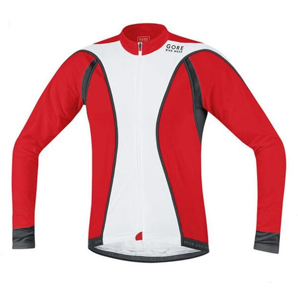 Gore Men's Oxygen Full-zip Long Sleeve Cycling Jersey