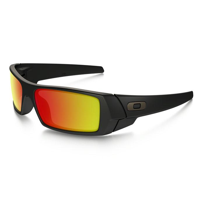 Oakley Men's Gascan Ruby Iridium Sunglasses