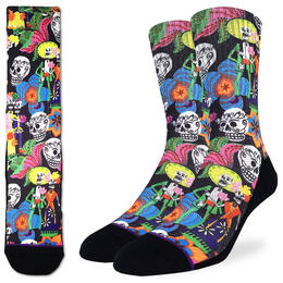 Good Luck Socks Men's Catrino & Catrina Skulls Socks