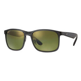 Ray-Ban RB4264 Sunglasses With Grey Green Mirror Chromance Lenses