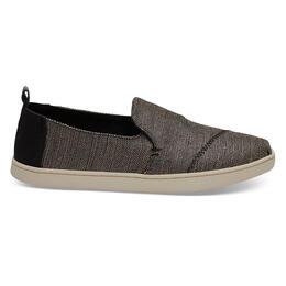 Toms Women's Deconstructed Alpargata Casual Shoes Black