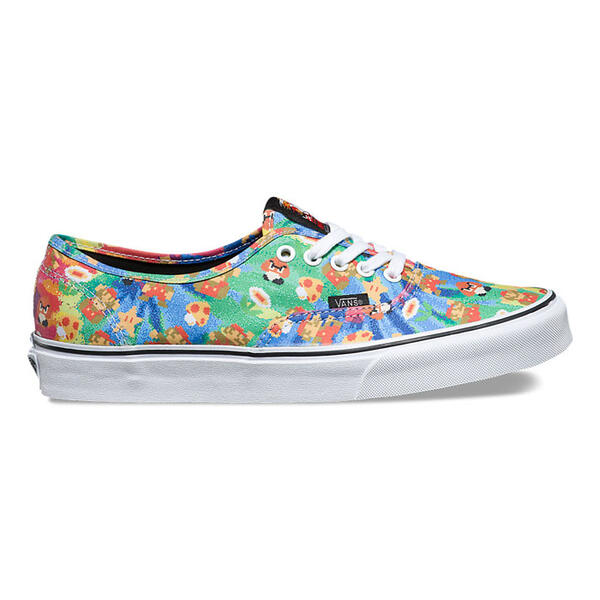 Vans Men's Authentic Super Mario Casual Sho