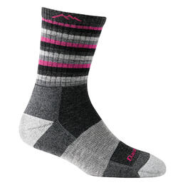 Darn Tough Vermont Women's Stripes Micro Crew Cushion Socks