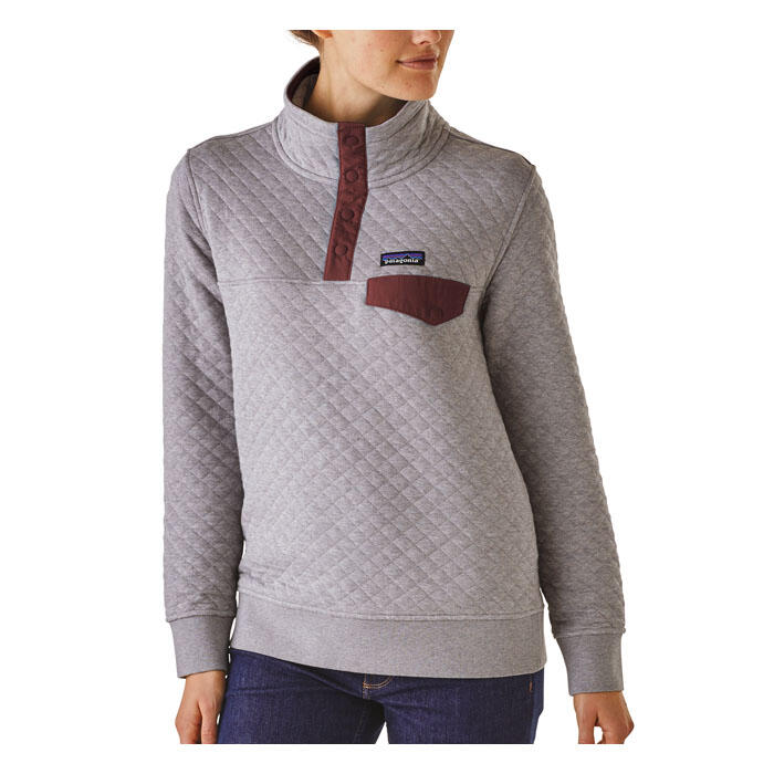 Patagonia Women S Cotton Quilt Snap T Pullover Sun Amp Ski