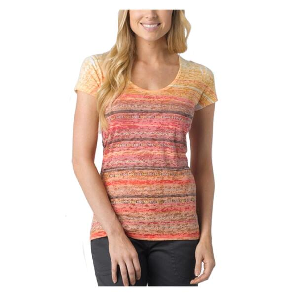 Prana Women's Ribbon Short Sleeve Tee Shirt
