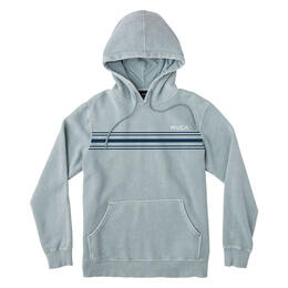 Rvca Men's Seven Stripe Fleece Hoodie