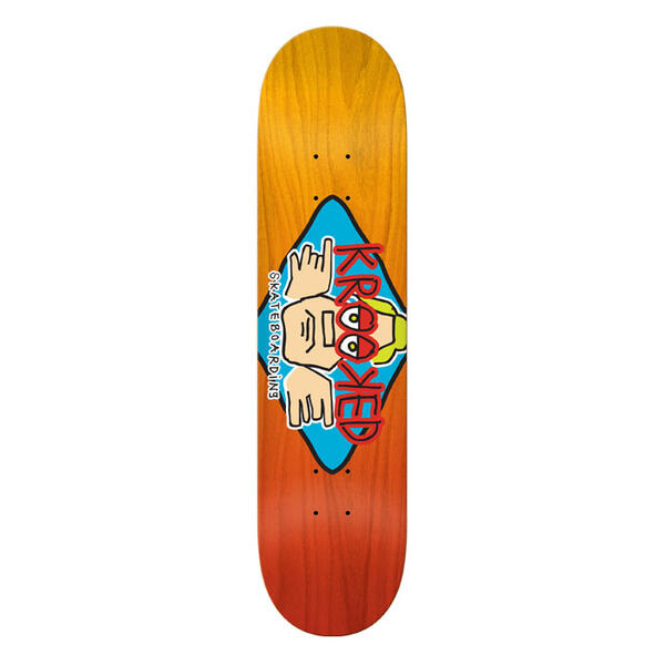 Krooked Arketype Fade 8.75 Skateboard Deck