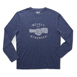 YETI Men's Handshake Long Sleeve T Shirt