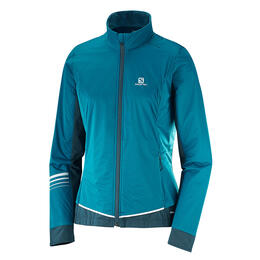 Salomon Women's Lightning Lightshell Ski Jacket, Deep Lagoon
