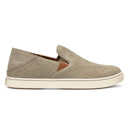 OluKai Women's Pehuea Leather Casual Shoes