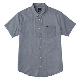 Rvca Men's No Name Short Sleeve Shirt