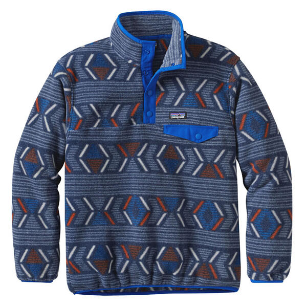 Patagonia Boy's Synchilla Snap-T Pullover -