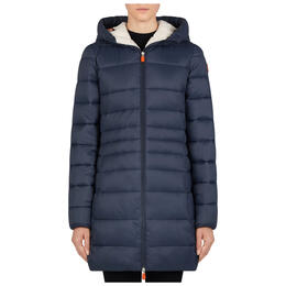 Save The Duck Women's Giga Hooded Parka Jacket
