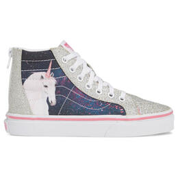 Vans Girl's SK8-Hi Zip Youth Casual Shoes