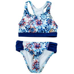 Next By Athena Girl's Rising Sun High Neck Swim Set