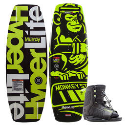 Hyperlite Boy's Murray Wakeboard W/ Remix Bindings '18