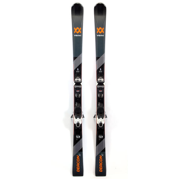 Volkl Men's Deacon XT Skis With VMotion 1 Bindings '20