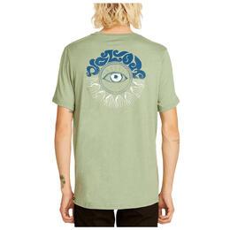15e88860f67 Volcom Men s Sunshine Eye Short Sleeve Tee Shirt